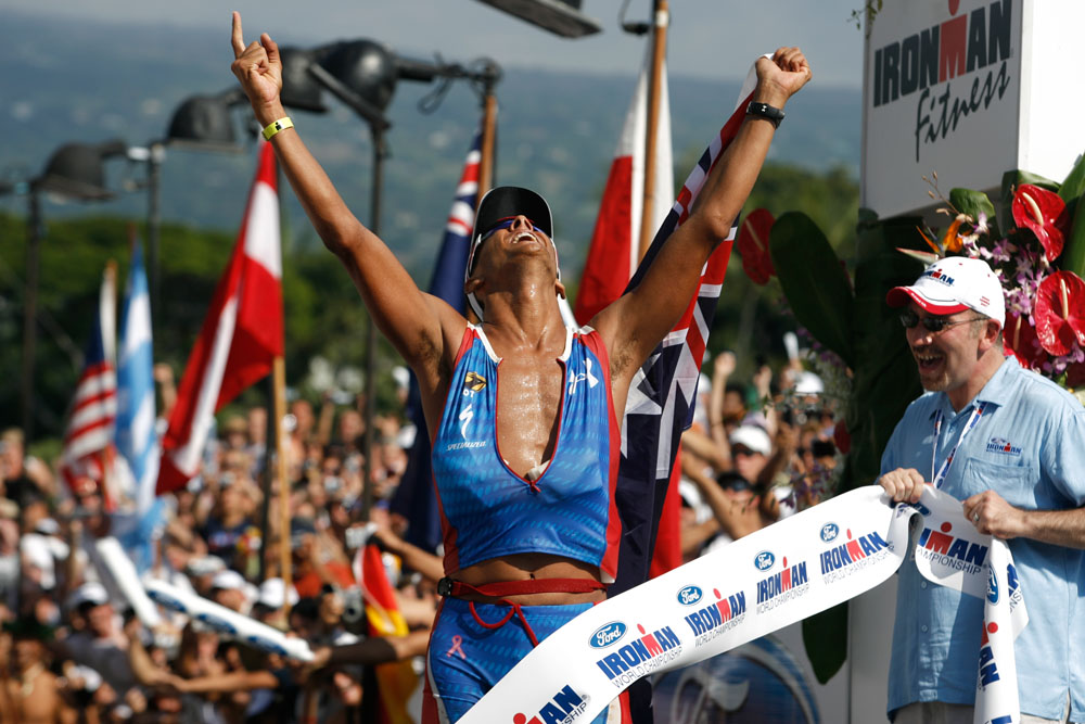 Applications currently are being accepted for the lottery slots for the 2009 Ironman World Championship.