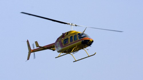 Chopper Two transports injured from the accident.
