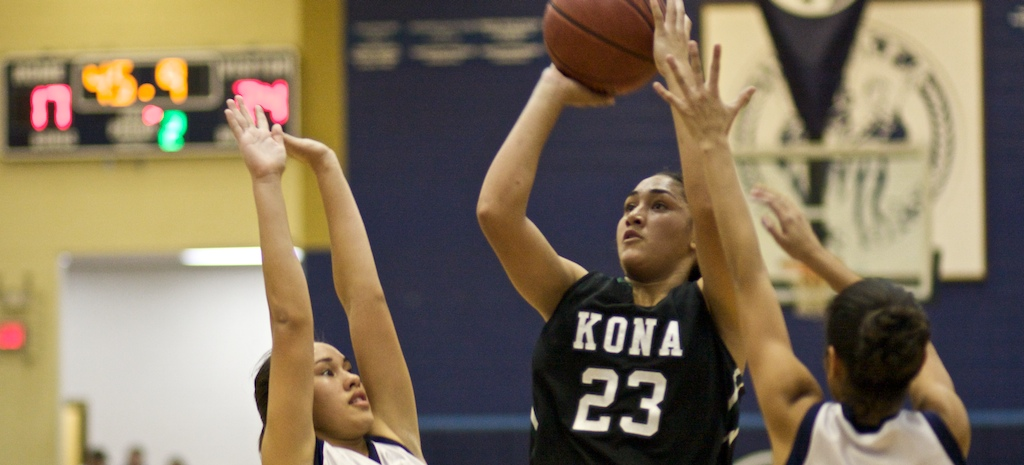 Konawaena girls win Iolani Basketball Classic