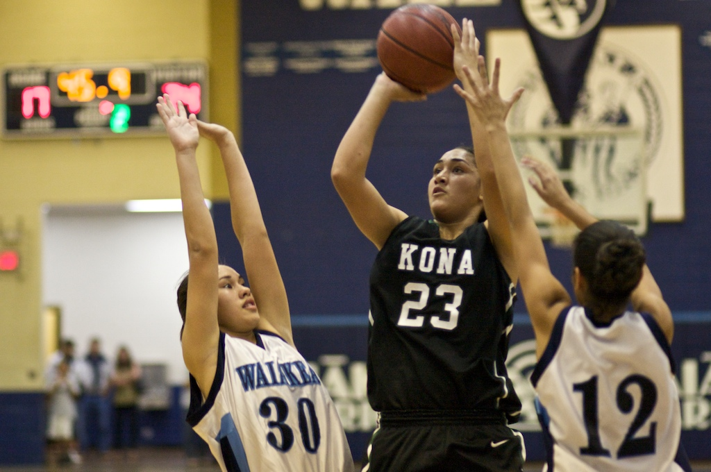 Girls Division I: Konawaena to play for state title