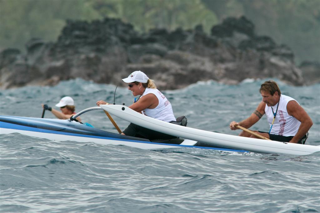 Hawaii Island Paddlesports Association race - O'Shaughnessy/Pineula Va'a East Hawaii Challenge, sponsored by the O'Shaughnessy Ohana, Afa Tuaolo and Puna Canoe Club.