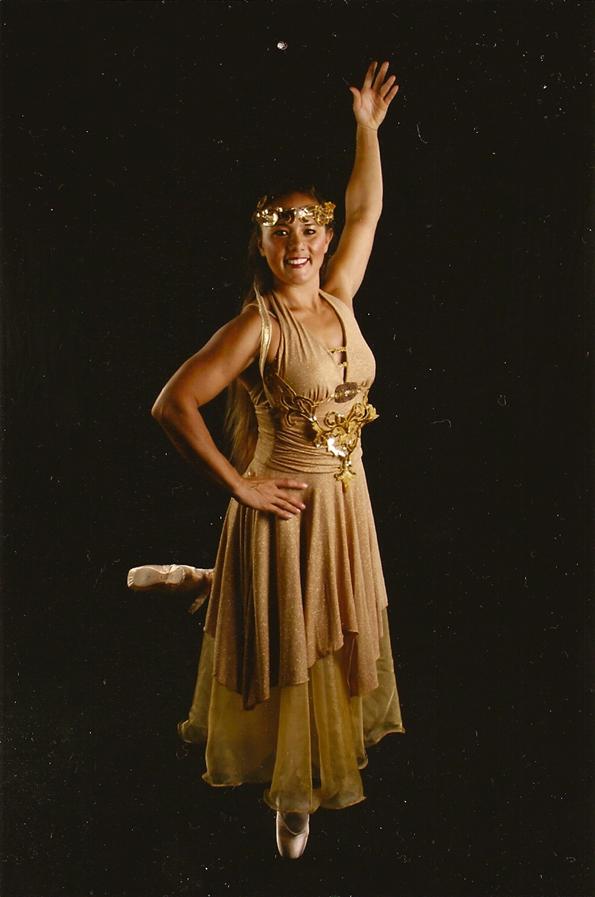 Keahi Kapela as the Gold Fairy in 'Sleeping Beauty.'