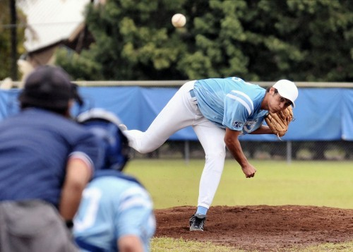 Kealakehe's starting pitcher Dorian Rivera got the win for the Waveriders.
