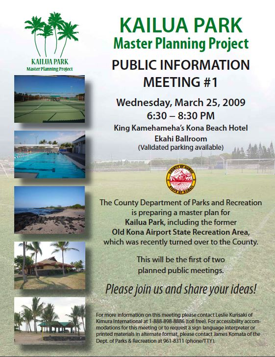 kailua-park-master-planning-project