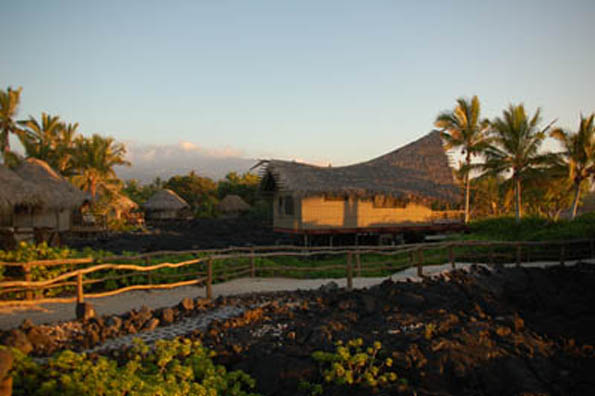 Kona Village Resort is one of five in Hawaii to make the National Geographic Travler's annual 'Stay List.' (Photo courtesy of Kona Village Resort)