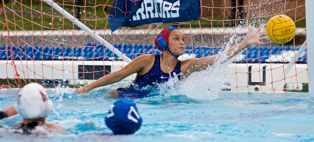Hilo beat Ka'u 18-9 during a day of water polo matches at Nae'ole Pool at Kamehameha-Hawaii campus in Keaau.