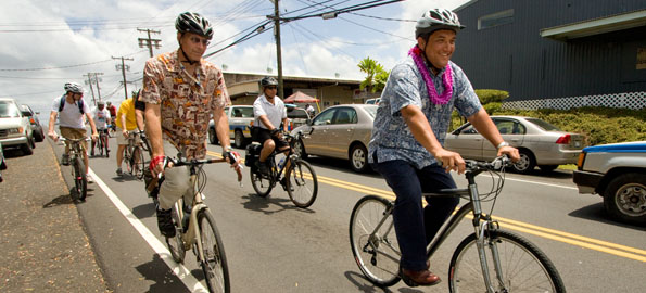 Bike to Work week promotes riding bikes to create a leaner, greener commuter.