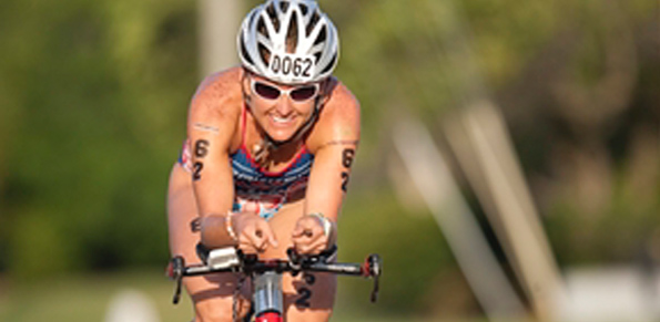 Big Island triathlete has sights set firmly on two races in her own backyard - one this month and another coming up in October (you know which one)