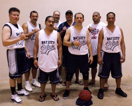 Representing Big Island police in the SHOPO Police Basketball Tournament: