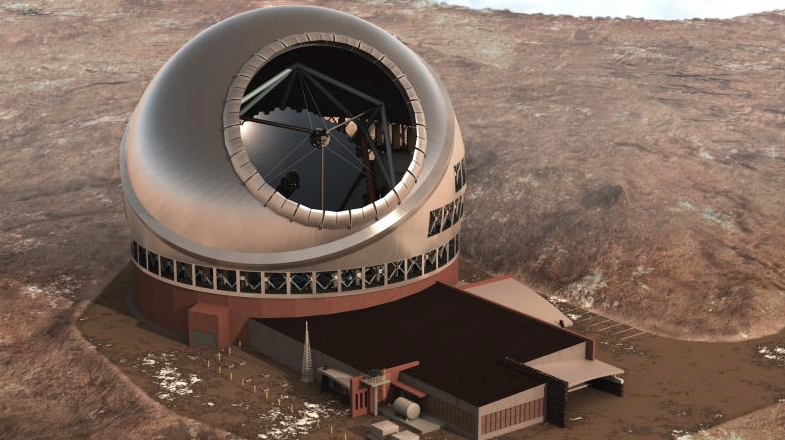 Giant step toward establishing full partnership in the construction and operation of new telescope on Mauna Kea