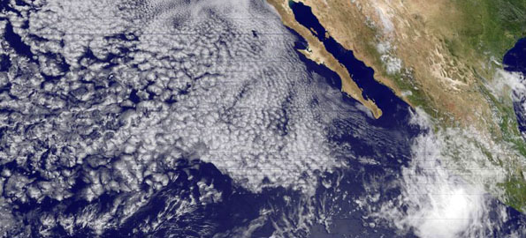 This year Tropical Storm Andres became the first named storm of the season after forming about 180 miles off of the southwestern coast of Mexico on the evening (local time) of June 21.