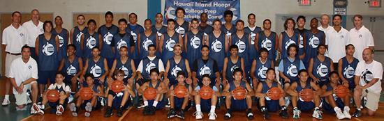 The Class of 2009. (Photo courtesy of Hawaii Island Hoops)