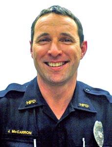 Officer John F. McCarron