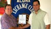 Aloha Exchange Club of East Hawaii chooses Rodrigues as 'Officer of the month'