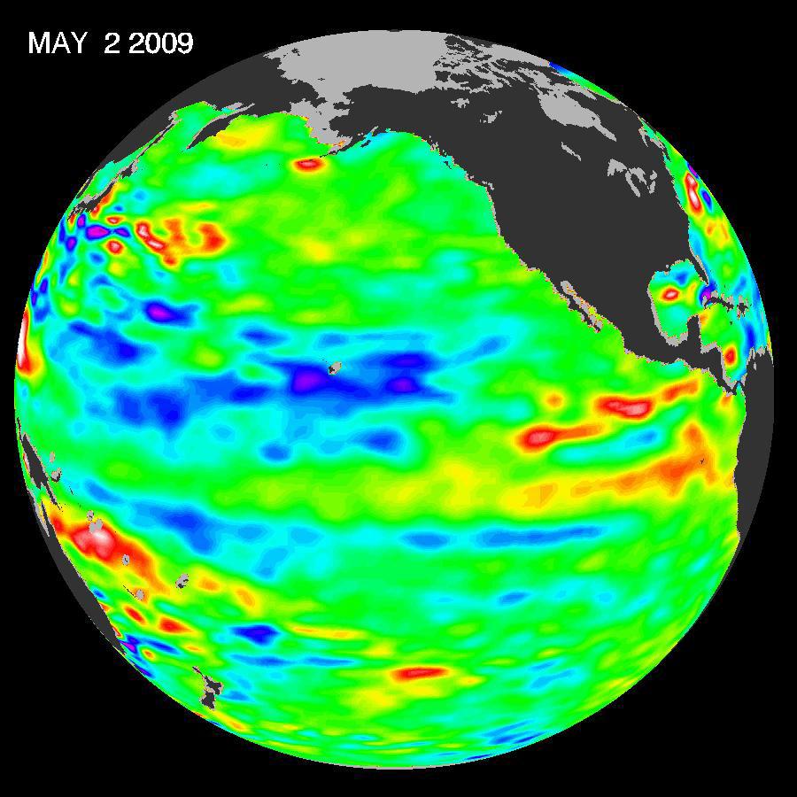 Cooler seas may dampen hurricane season