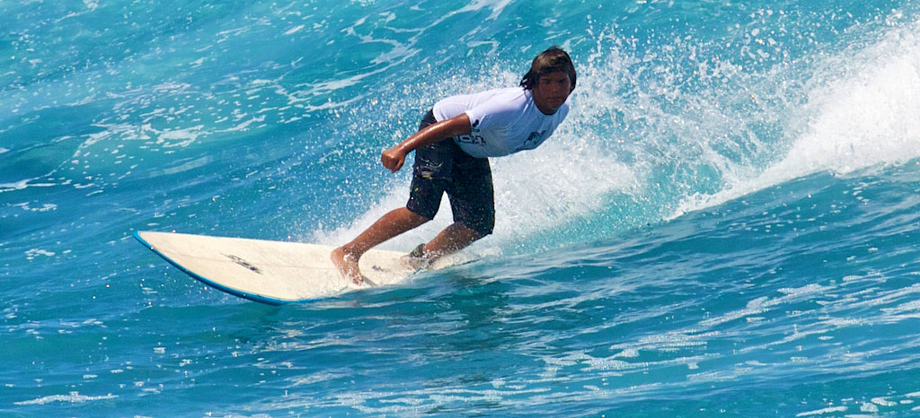 The Pohoiki Bay Surfing Classic runs July 3-5th in Puna. Click on the image above for video of the first day.