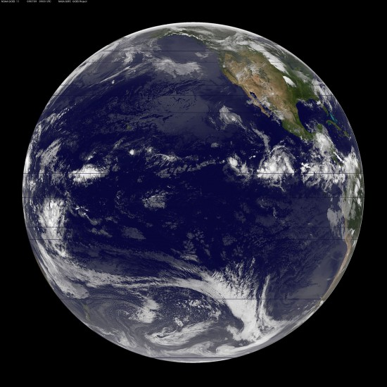Images courtesy of NOAA-NASA GOES Project