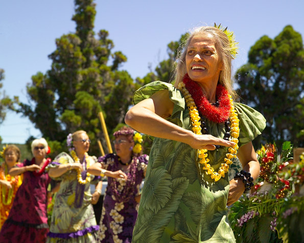 This year's cultural festival celebrates Pele. (Photo courtesy of Hawaii Volcanoes National Park)