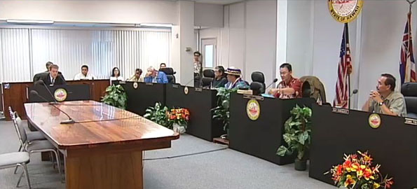 County council votes to rescind leadership change of June 16