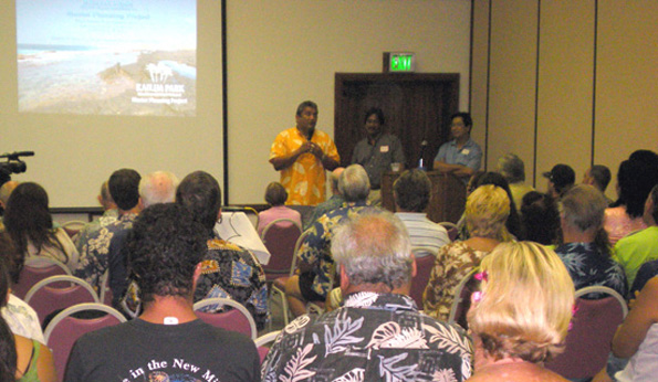 After months of public meetings and workshops, consultants present vision for West Hawaii's most heavily used public park