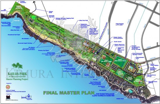 Click on above image for the Kailua Park Final Master Plan PDF document.
