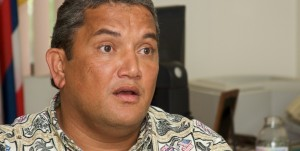 Mayor Kenoi talks about bill 132 and the land in Hamakua that would be for sale to balance the county budgets.
