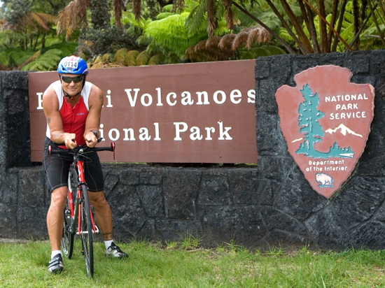 Hawaii park dispatcher counting down to Ironman