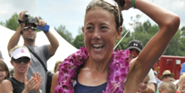 Chrissie Wellington returns next month to Kona too compete for her Ironman crown. (Photo courtesy Ironman)