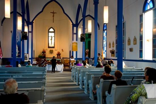 Our Lady of Lourdes Church in Honokaa.