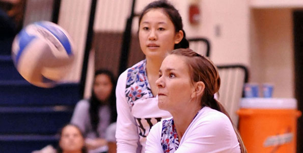 The University of Hawaii at Hilo beat the Academy of Art University 3-0 in a Pacific West Conference match in the UHH Gymnasium.