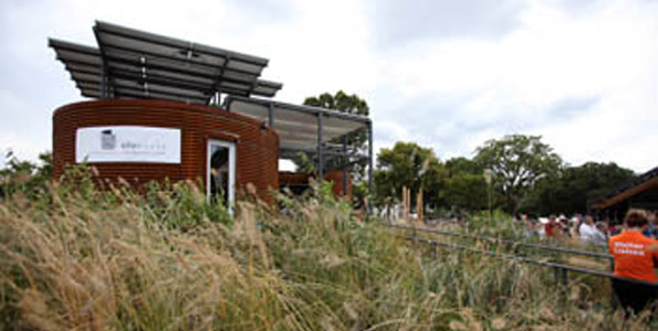 Silo House earns praise, Hawaii students earn a bow at 2009 Solar Decathlon on the National Mall