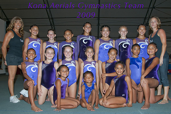 Kona Aerials shine in season's first meet
