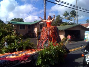 The 19th Annual Pahoa Holiday Parade commences at 10 a.m., Saturday, Dec. 5, 2009 in old Pahoa Town. Watch the always-colorful parade in this eclectic Puna town, and then head down to the Pahoa High and Intermediate School for the Ho'olaulea, featuring island fare and entertainment.