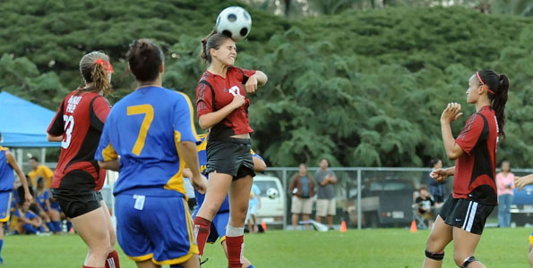 The Hilo High School/Big Island Candies Hilo Bay Soccer Tournament kicked-off in Hilo Wednesday.