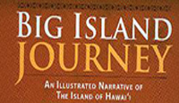 Author signing 'Big Island Journey' at credit union