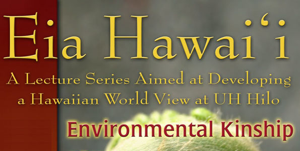 The Eia Hawai'i lecture series - Kalo/GMO Panel