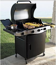 The drip pan on the grill does not allow for adequate drainage, posing fire and burn hazards to consumers. The firm has received 11 reports of fires resulting from inadequate drainage. No injuries reported.