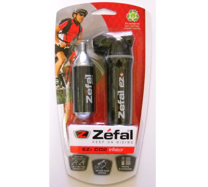 This recall involves Zefal CO2 bicycle tire inflators with a small pressurized carbon dioxide cartridge.  The pressurized cartridge containing carbon dioxide (CO2) can forcefully separate from the pump head, posing a risk of injury to the consumer.