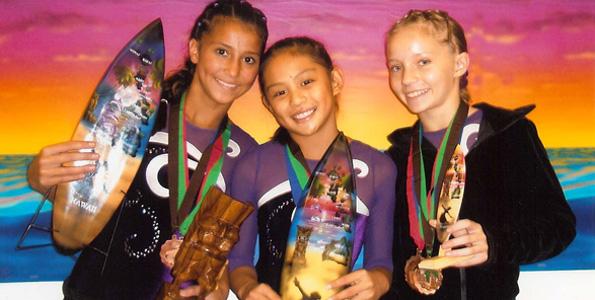 Kona Aerials star at state gymnastics meet