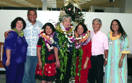 Three retire from Planning Department
