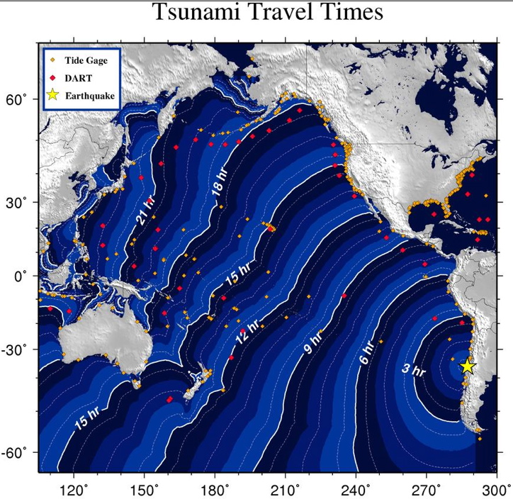 Chile earthquake: Hawaii under tsunami warning ... 12:46 a.m. Feb. 27