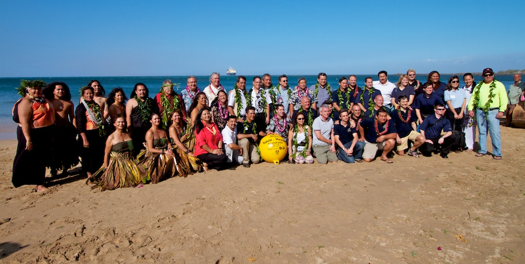 Connection will bolster economic opportunities and educational exchanges between French Polynesia and Hawaii, the U.S. mainland and the rest of world