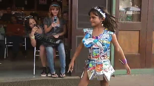 Recycle artists converted trash into outfits for the annual Trash Bash Fashion Show in Kohala Saturday (March 20). Video of the show.