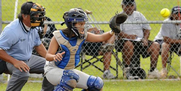 In BIIF girls softball the host Waiakea Warriors defeated the visiting Kamehameha-Hawaii Warriors 11-1.