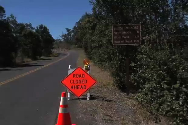 Windy weather continues within Hawai'i Volcanoes National Park, with gusts buffeting some park areas at over 50 mph. To protect visitors from fallen tree debris and other hazards, rangers have closed the following until further notice: Mauna Loa Rd & Trail, Red Hill Cabin, Mauna Loa Summit Cabin and Namakanipaio Campground.