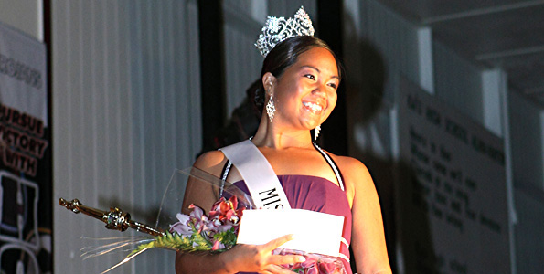 From water polo captain to pageant crown, Waiohinu teen has a weekend to remember