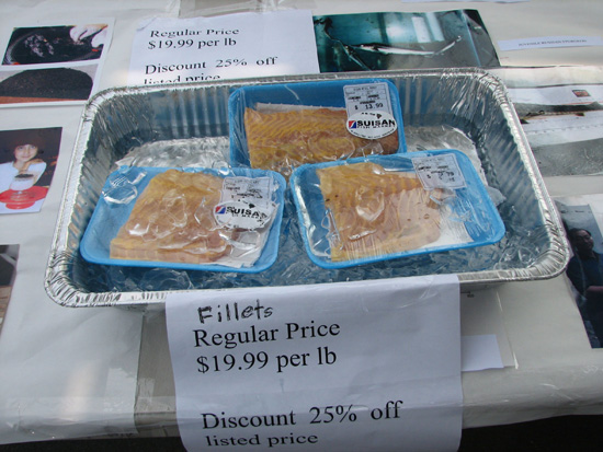 NELHA Fish Farmers Market (Aug. 27)