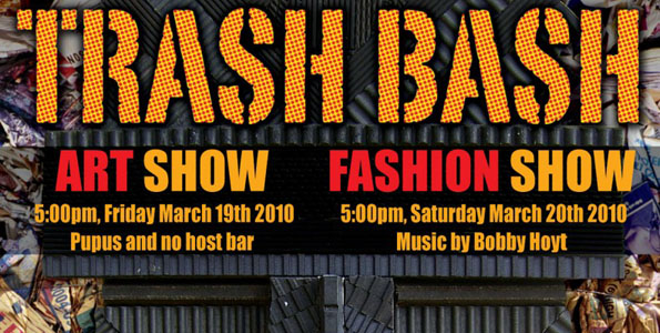 The 4th Annual Kohala Trash Bash Art and Fashion show happens March 19-20 in Hawi.