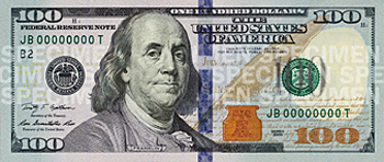 Government unveils new design for $100 note