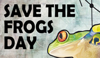 'Save the Frogs Day' events around the world (April 30)